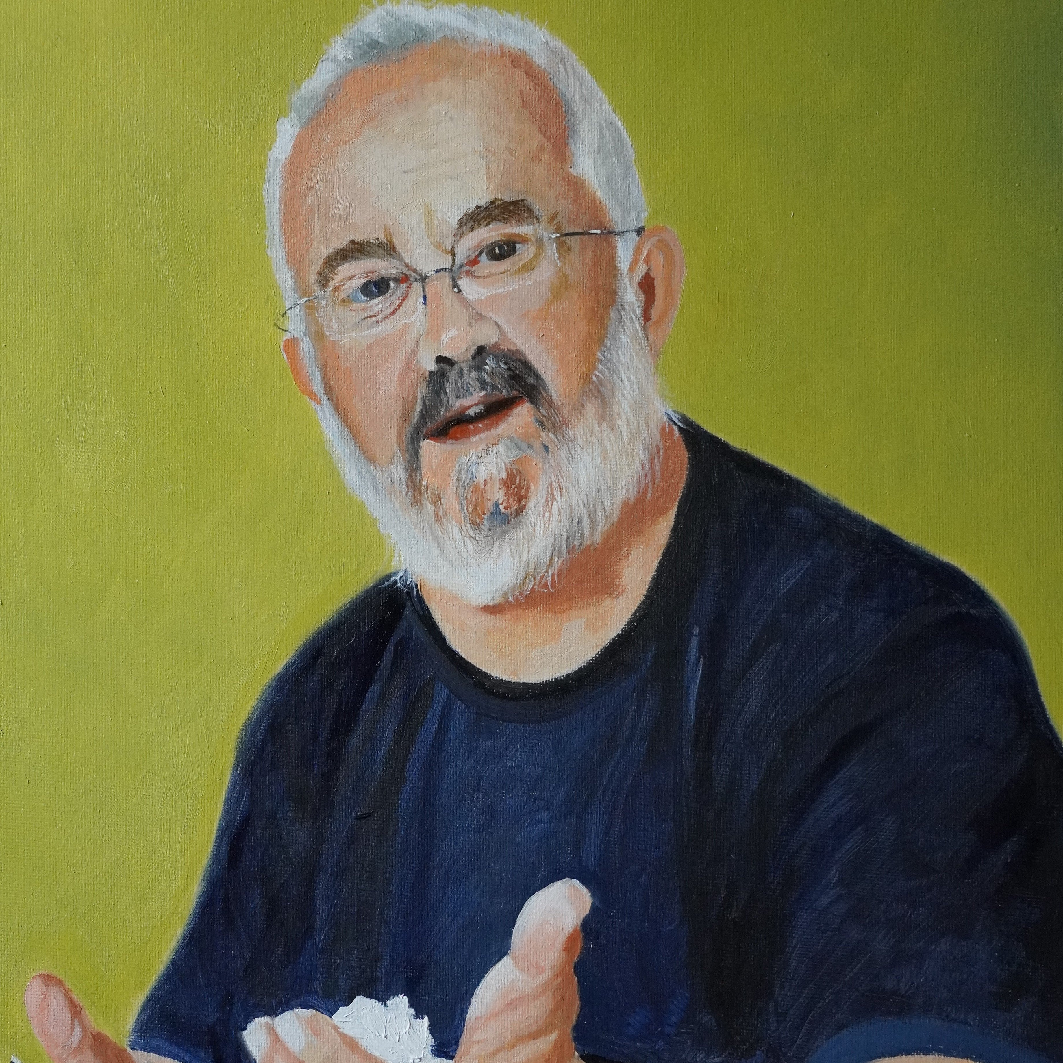 John Credland Portrait (SOLD)