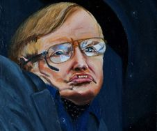 Professor Stephen Hawking (SOLD)